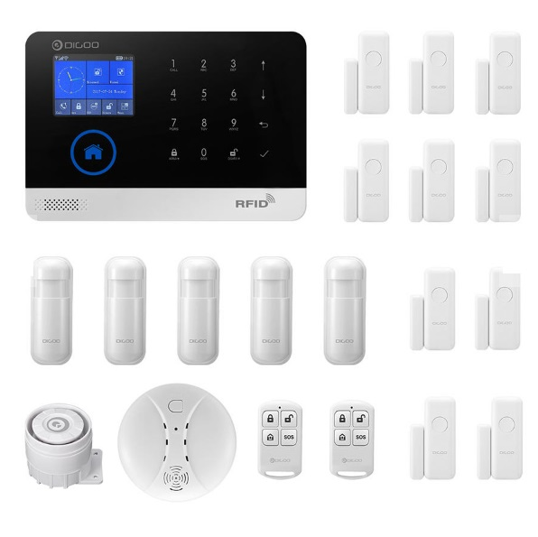 Συστημα συναγερμου Digoo DG-HOSA Wireless GSM & WIFI – Smart Home Security